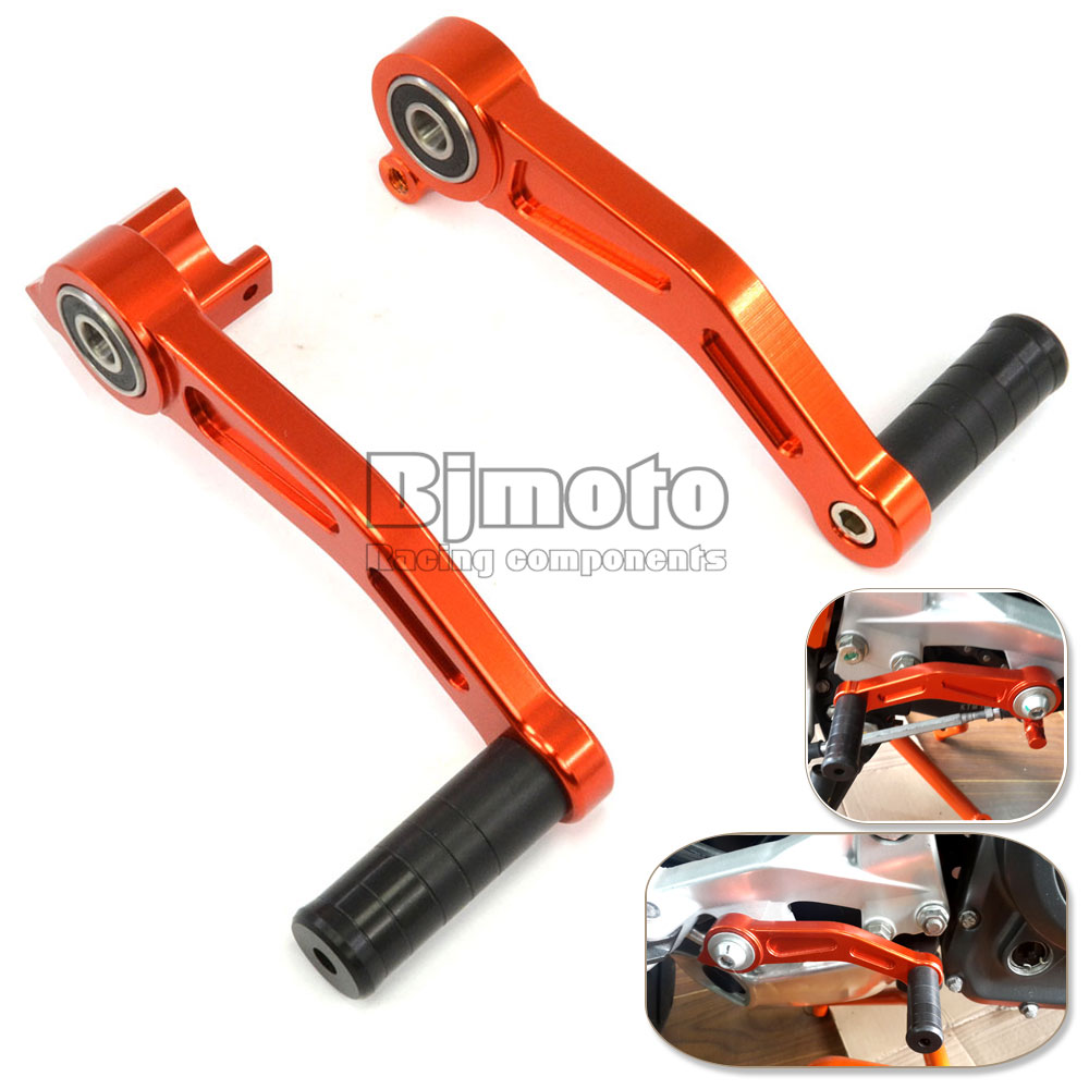 Bjmoto Motorcycle CNC Aluminium Brake Clutch Gear Pedal Lever for KTM DUKE 390 2013-2018 DUKE 125/200 DUKE 250 2017 -2018 motorcycle spring for cf400 duke ktm 125 duke 200 duke 390 handlebar balance bar can be stretched cross bar