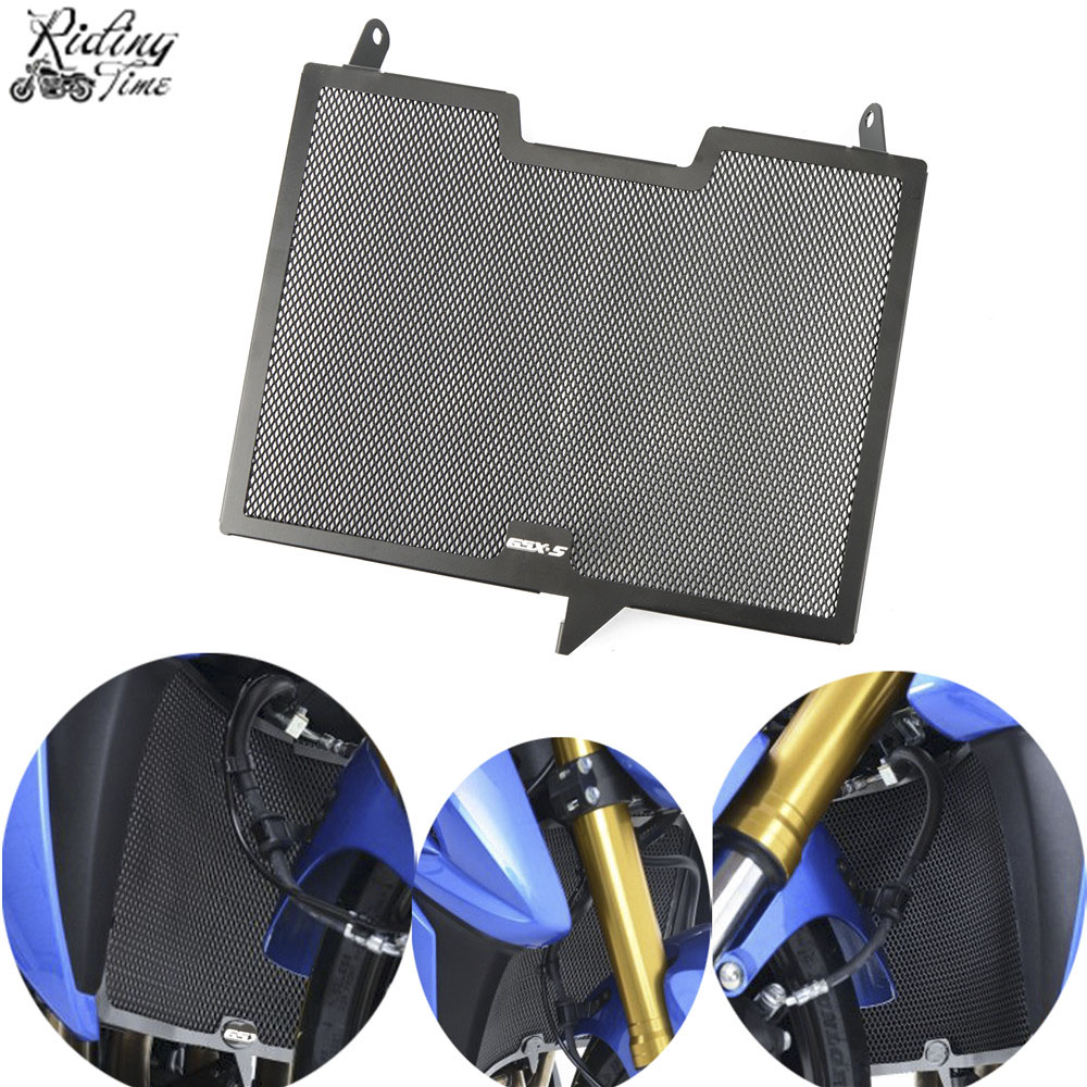 Motorcycle Radiator Guard Grille Guard Cover Protector For SUZUKI GSX-S1000/GSX-S1000F  2015-2018 GSX S1000 GSX S1000FMotorcycle Radiator Guard Grille Guard Cover Protector For SUZUKI GSX-S1000/GSX-S1000F  2015-2018 GSX S1000 GSX S1000F
