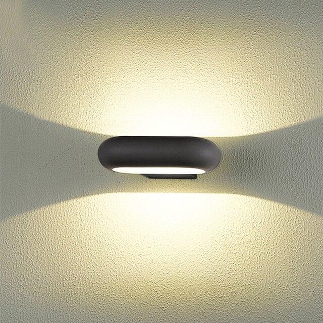 led badkamer verlichting waterdichte led verlichting tuinpad hek muur tuin wanddecoratie badkamer wandlamp wandmontage