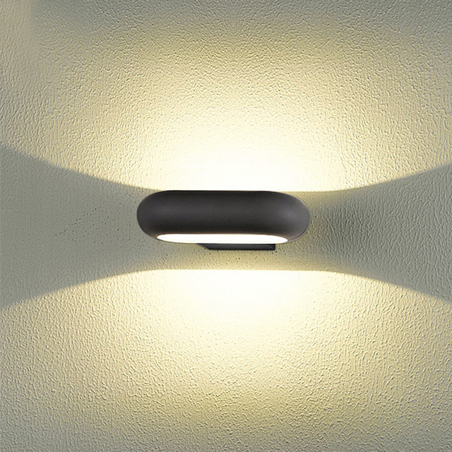 led bathroom lights waterproof LED Lightings Garden Path Wall Fence ...