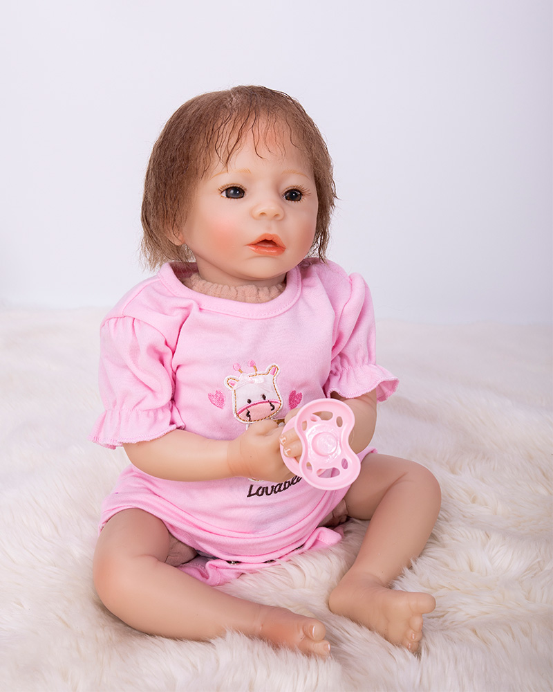NPK Newborn Reborn Baby Dolls Silicone so Cute Soft Baby Alive Doll For Girls Princess Kid Fashion Bebes Reborn Dolls 48cmNPK Newborn Reborn Baby Dolls Silicone so Cute Soft Baby Alive Doll For Girls Princess Kid Fashion Bebes Reborn Dolls 48cm
