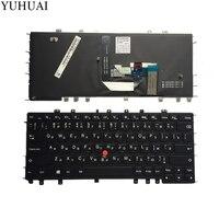 NEW KZ/RU keyboard FOR Lenovo Thinkpad Yoga S1 S240 Russian/Kazakhstan Laptop Keyboard Backlit Black