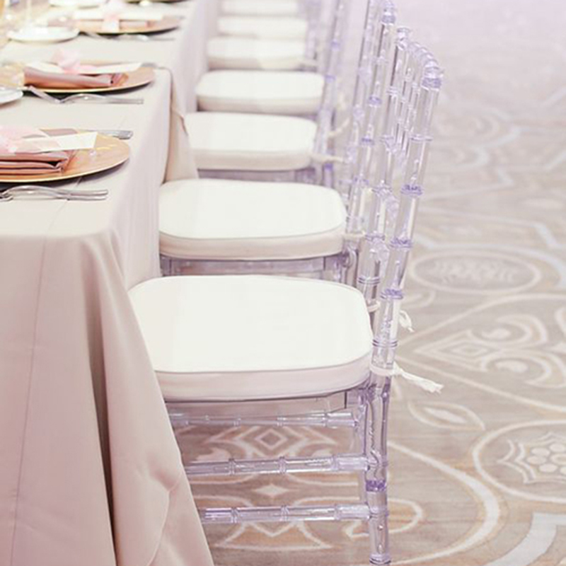 Transparent Crystal Acrylic Chiavari Chair Funitue Wedding Chair Banquet Chair For Wedding Moment Hotel Party Or Gathering(China)