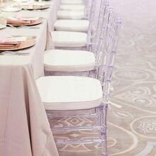 Прозрачный Кристальный акриловый стул «Кьявари» мебель свадебный стул для банкета для свадебного момента отель вечерние или сбор