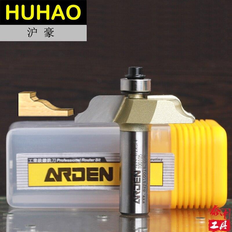 Woodworking Ogee Flute Arden Router Bit - 1/2*3/4 - 19.05mm  Shank - Arden A1214018