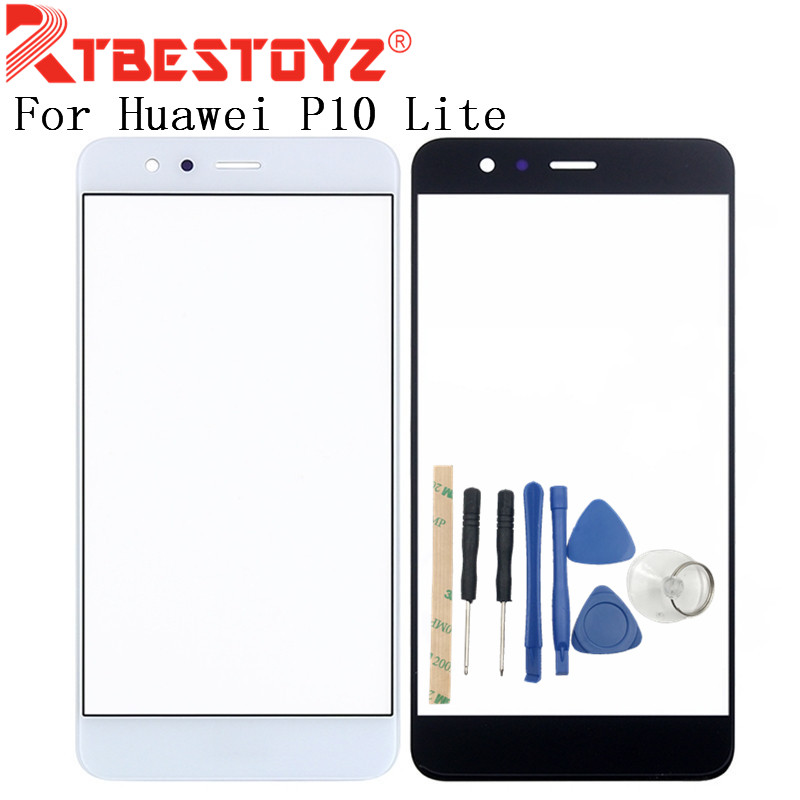 RTBESTOYZ High Quality 5.2 Inch For Huawei P10 Lite Front Glass Screen Panel Mobile Phone Replacement Parts