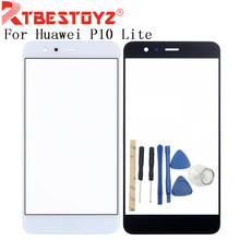 RTBESTOYZ High Quality 5.2 inch For Huawei P10 Lite Front Glass Screen Panel