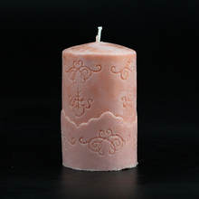 Three-dimensional cylinder type silicone handmade art candle mould,candle silicon molds