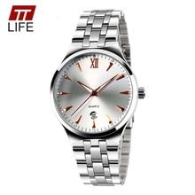 TTLIFE relogio masculino Ladies Watches Men Luxury Brand Hot Design Military Wrist watch Men Digital Quartz Men Full Steel Watch