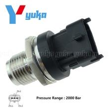 Сенсор топлива Rail Давление для Mazda 6 MPV Toyota Corolla Verso 2.0 di 2.3 2.2 D-4D для Ford диапазон 2.5 td 0281006165