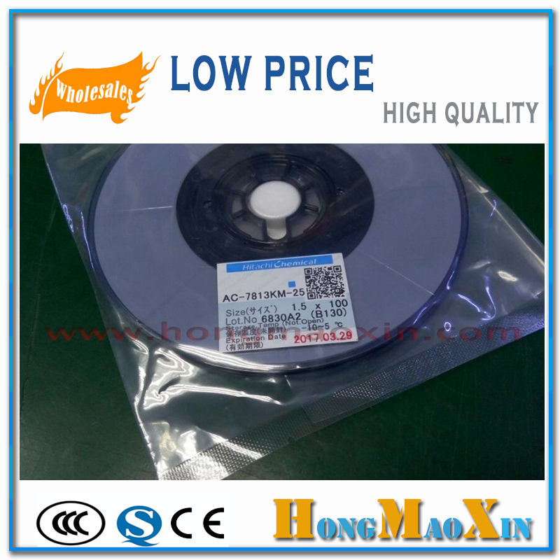For hitachi AC 7813KM 25 conductive adhesive acf anisotropic conduction film for font b iPhone b