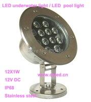 CE  IP68  12 w ao ar livre LEVOU holofotes  DIODO EMISSOR de luz ao ar livre  DS 10 70 12W  12 v DC  tensão constante  encaixe do aço inoxidável led spotlight spotlight led led high power -