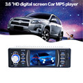 New Arrival Bluetooth Car Stereo Audio In-Dash Aux Input Receiver SD/USB MP5 Player jr13