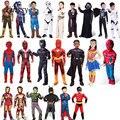 Детский карнавальный костюм для мальчиков  Супермен Паук  Железный человек  костюм для Хэллоуина