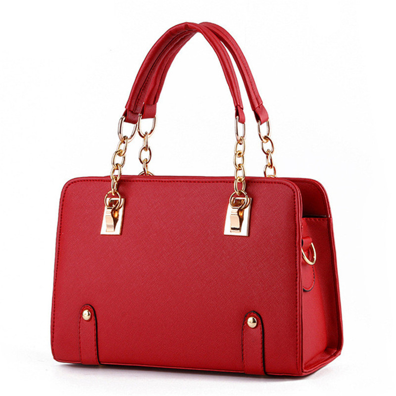 Women Bags Luxury Handbags Famous Designer Women bags Casual Tote Designer High Quality 2019 NEW Interior Slot Pocket(China)
