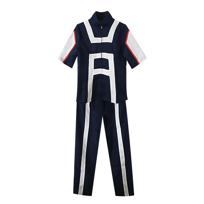Anime Boku No Hero Bakugou Katsuki/iida Tenya/todoroki Shouto Cosplay Costume My Hero Academia Sportswear Midoriya Izuku Cosplay