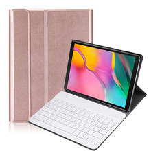 Baru Keyboard Case untuk Samsung Galaxy Tab S5e 10.5 2019 SM-T720 T720 T725 Tablet Smart Magnetik Bluetooth Keyboard Case + film(China)