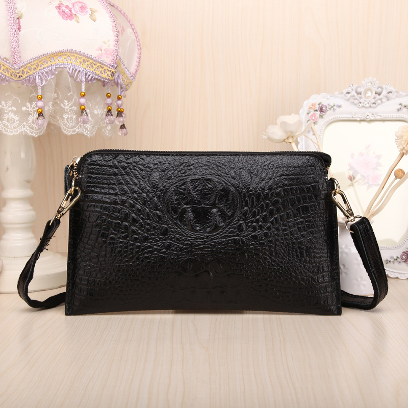 2016 Women Genuine Crocodile Leather Crossbody Bag Fashion designer women Messenger bags 789