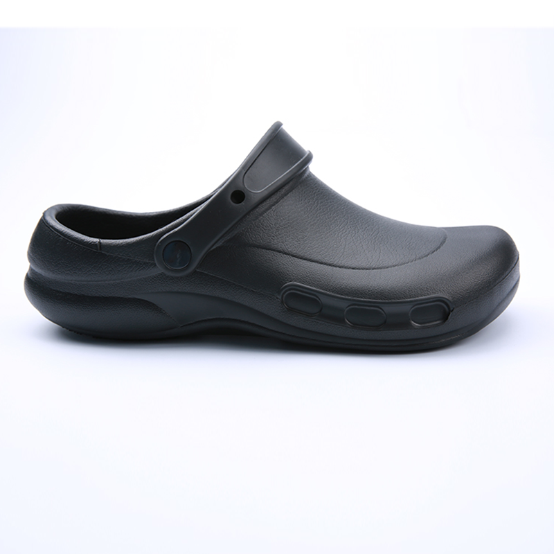 Non-slip Waterproof Oil-proof Male Chef Shoes Hotel Kitchen Work Shoes for Restaurant Master Cook Slippers Flat Sandals