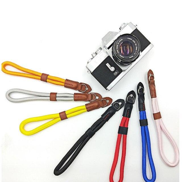 10 個ナイロンマイクロ単一カメラワイドプレート手首バンド手マイクロ単一カメラ