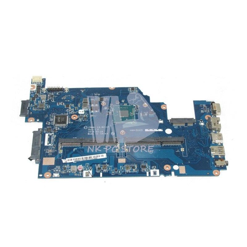 NBMNY11002 NB.MNY11.002 For Acer aspire E5-511 Laptop motherboard Z5WAL LA-B211P N2940 CPU DDR3L nokotion laptop motherboard for acer aspire 5820g 5820t 5820tzg mbptg06001 dazr7bmb8e0 31zr7mb0000 hm55 ddr3 mainboard