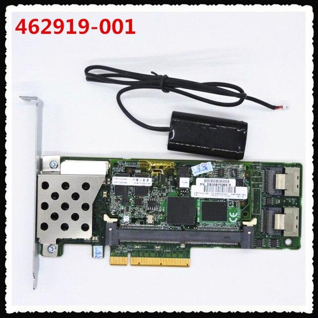 462919 001 013233 001 صفيف SAS P410 رائد بطاقة وحدة التحكم 6Gb PCI E مع 512M RAM