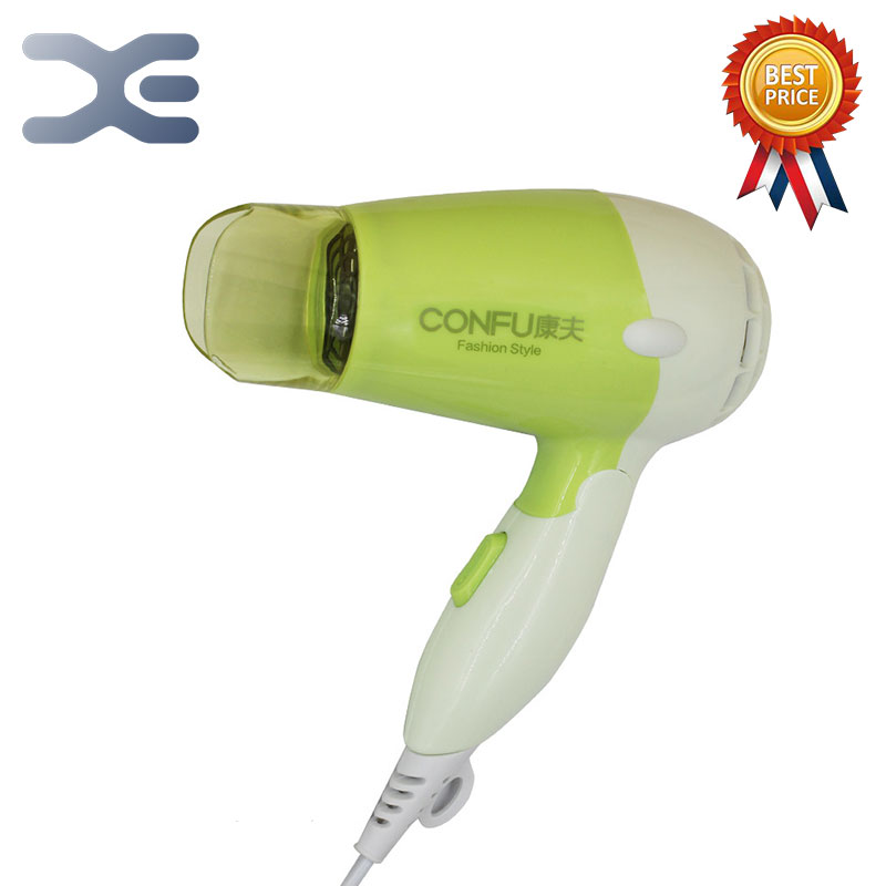 500W Foldable Handle Hot/Cold Air Electric Hair Dryer Household Travel Quick Dry Hair 6301