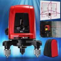 Hot AK435 360 Degree Rotating Red Beam Self Leveling Cross Laser Line + Lightspot Laser Leveler