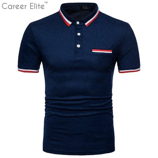 caa08647dd9 Casual Polos Camisa para hombres Camisa Polo Ralphmen Pol Camisa Masculina  marcas de diseñador de los
