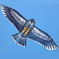 Высокое качество спорт на открытом воздухе 1.5 м орел кайт с ручкой и 50 м линии легко Управление Летающий