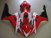 Injection molded fairing kit for Honda CBR1000RR 06 07 red white bodywork fairings set CBR1000RR 2006 2007 FC25