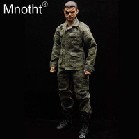 1/6 Scale American Vietnam Tiger Camouflage Clothes Suit Coat With Pants Costume for 12inch Action Figures Collection DIY m3n