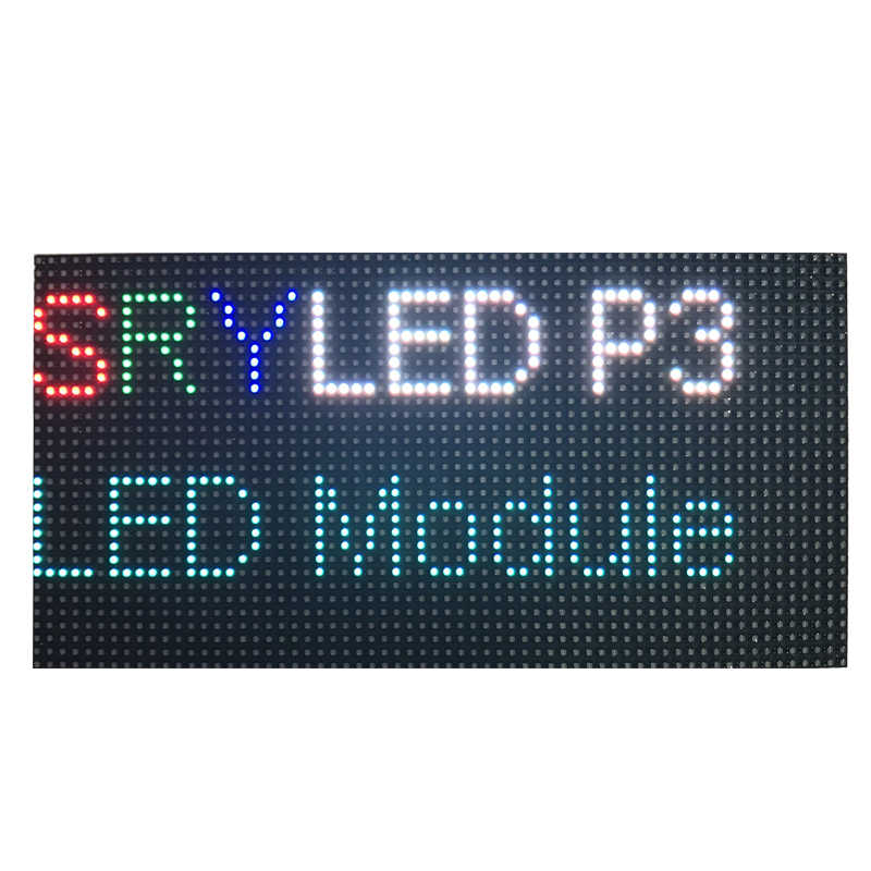 64x32 P3 Led Digital Clock RGB Led Matrix 192 x 96mm Support ESP8266  Controller