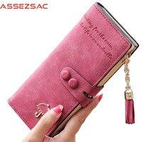 Assez Sac Hot Sale Women Wallets Femal Fashion Leather Bags Card Holders Women Wallet Purse Bolsas