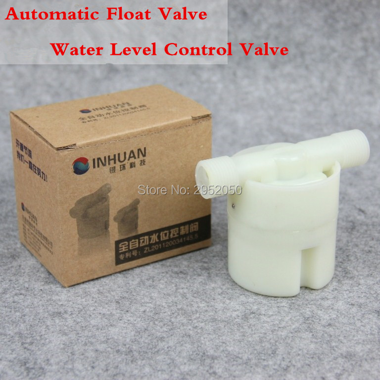 Free Shipping 1/2 Floating Ball Valve Automatic Float Valve Water Level Control Valve F/ Water Tank Water Tower 1 pt thread water sensor float plastic float valve floating ball
