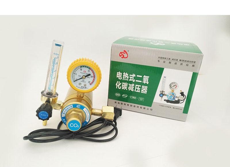 CO2 Pressure Reducer CO2 Regulator Welder Reducing Valve Welding Regulator alloy shockproof oxygen pressure reducer o3 regulator pressure reducing valve