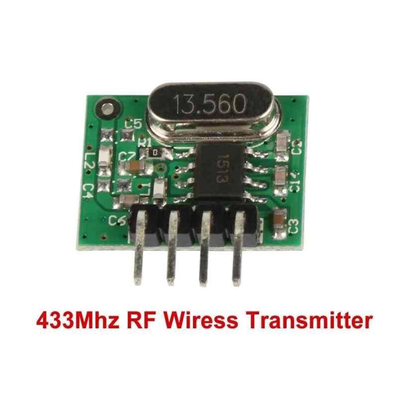 QIACHIP 433mhz Mini receptor de relé RF de baja potencia y módulo Transmisor RF interruptor de Control remoto inalámbrico para hogar inteligente interruptor de DIY