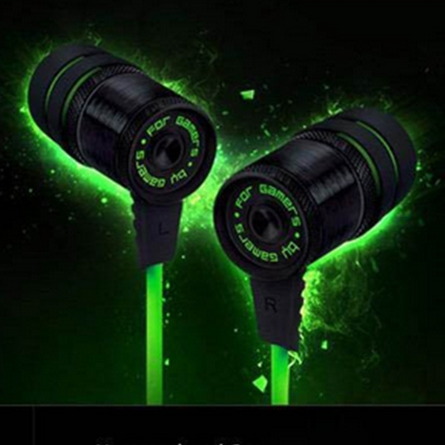 Nuevo Razer Hammerhead Pro Gaming Headset Juego de auriculares auriculares Con Cancelación de Ruido en la oreja los Auriculares sin Micrófono auricular