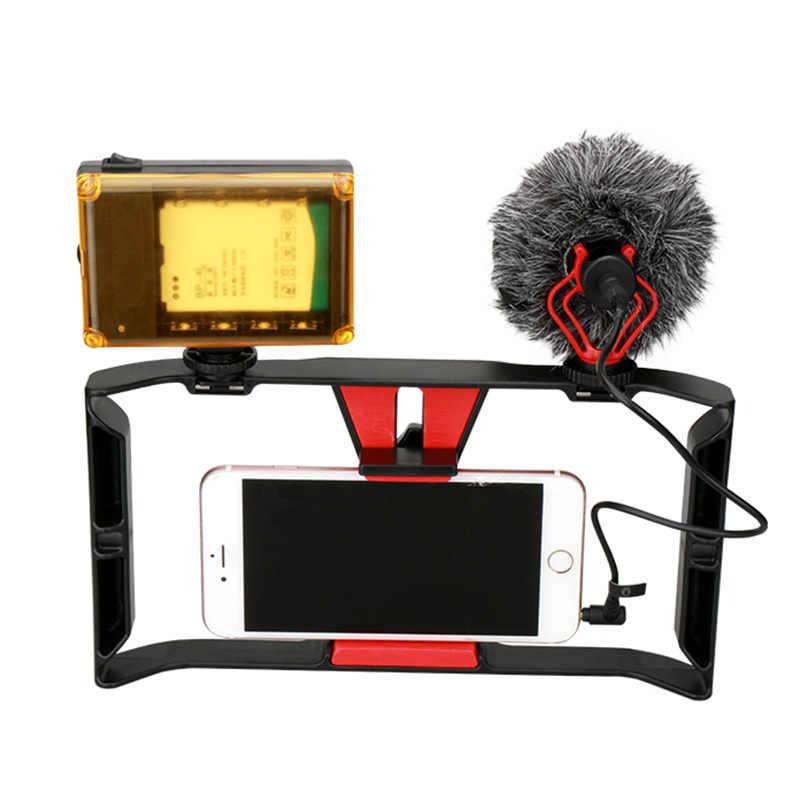 Microfoon Video Interview Microfoon voor DSLR Camera voor iPhone Andriod Telefoon Tablet PC Macbook ND998