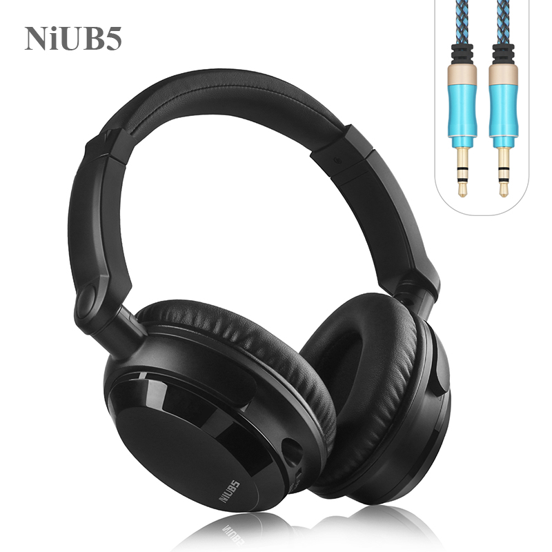2016 Noise Canceling Headphone NiUB5 NX-07 HiFi Comfortable Durable Portable Active Noise cancel Headset auriculares for phone bluedio f2 active noise canceling bluetooth headset