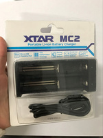 XTAR MC2 Universal Smart Intelligent Charger 3.7V Auto-off for 14500 16340 17500 18350 18500 18650 18700 Li-ion Battery USB Port Battery Chargers