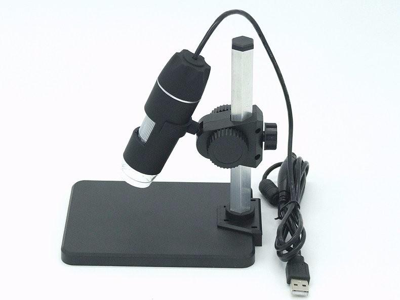 Купить Новый 500X2 МП USB 8 СВЕТОДИОДНЫЙ Цифровой Микроскоп Эндоскопа Лупа Камеры 30fps + Лифт Стенд + Калибровка Правитель дешево