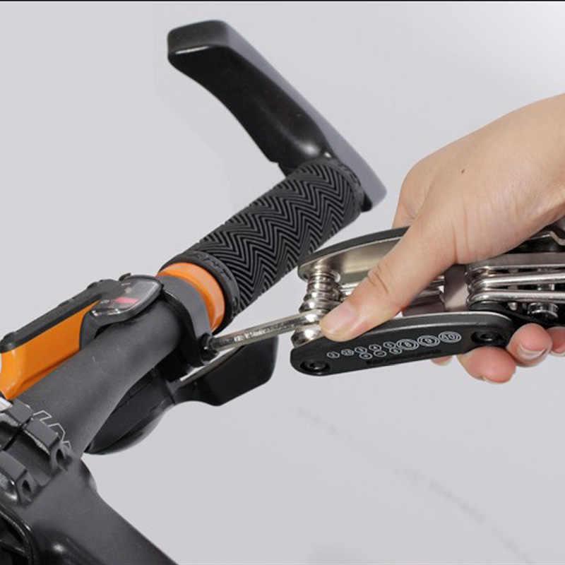 ROCKBROS 16 в 1 Набор велосипедных инструментов для горного велосипеда Многофункциональный ремонтный набор инструментов шестигранный спицевой гаечный ключ Горный Цикл Отвертка Инструмент