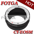 Fotga adaptador de montaje para contax yashica c/y cy lente para canon eos ef-cámara sin espejo m para ef/lente efs