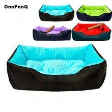 Kiváló minőségű nagy fajta kutyaágy Sofa Mat House 5 Méret XXL Cot Pet Bed nagy kutyáknak Big Blanket Párna kosár kellékanyagok
