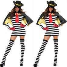 Escuela penitenciaria mujeres disfraces de halloween Zorro cosplay Pirata vestidos sexy vestido de juego de rol