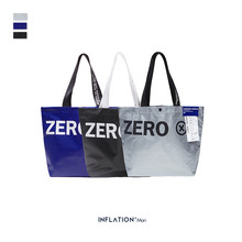 INFLATION 2019 Men Handbag Fashion Travel Bags Street Hip Hop Bag Hand Totes For Men And Women New Fashion Couple Bag 219AI2019(China)