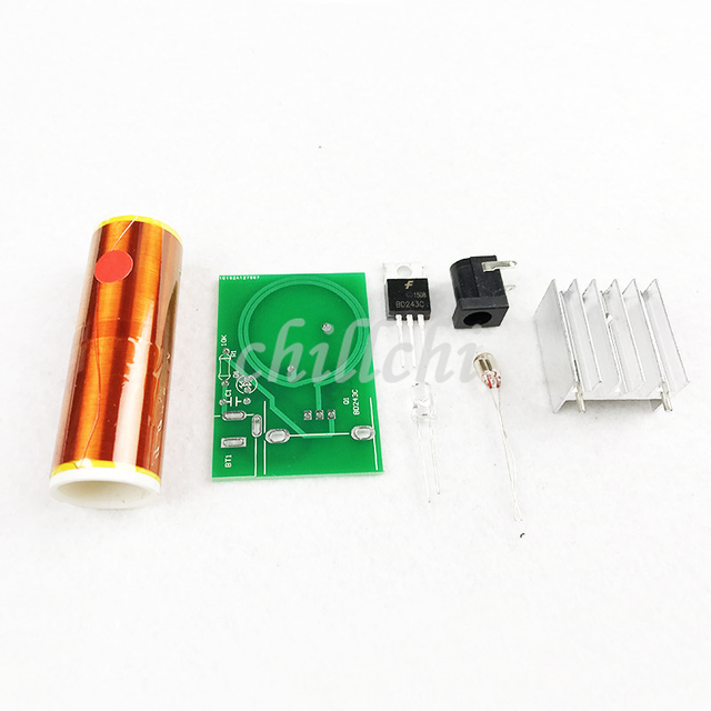 Mini Tesla coil TC TESLA MINI electronics DIY kits-in Integrated ...