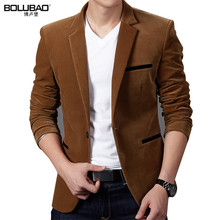 BOLUBAO 2017 New Arrival Brand Clothing Spring Blazer Men Fashion Slim Fit Masculine Blazers Mens Casual Solid Color Male Suits
