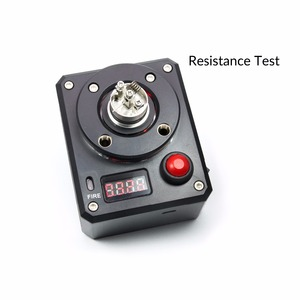 Image 2 - Volcanee multi fonction OHM mètre testeur de tension résistance Ohm lecteur fièvre brûlante pour E Cigarette RDA chauffage bobine fil bricolage